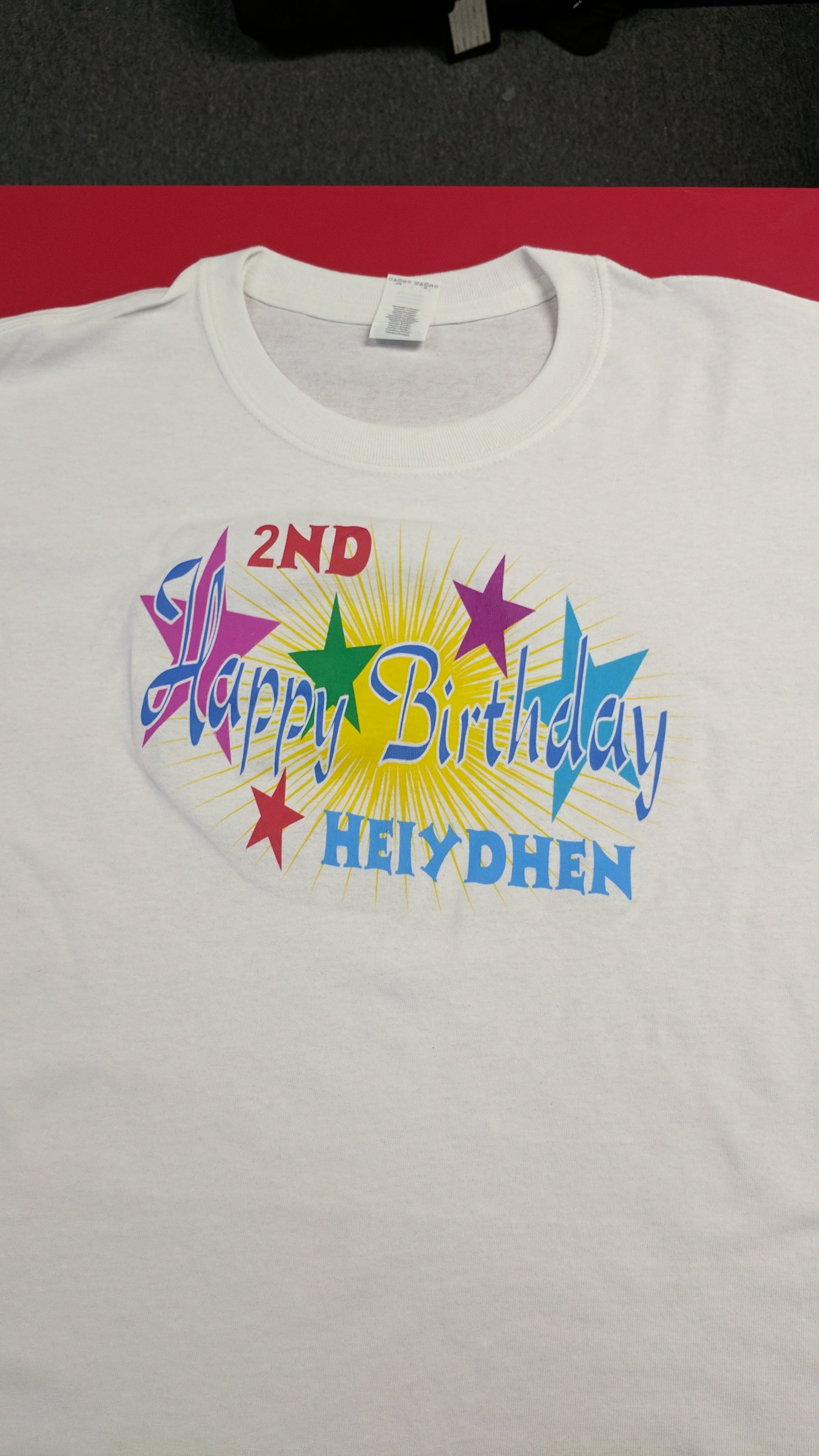 Custom shirts hines screen printing embroidery